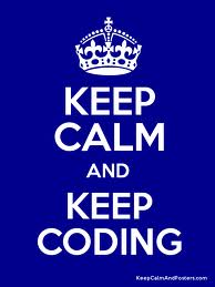 keep calm and code
